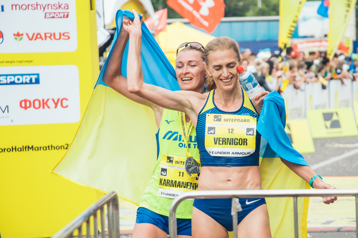 Маршрут главной дистанции 4th INTERPIPE Dnipro Half Marathon традиционно пролегает вдоль Днепровской набережной, старт и финиш - на центральной Площади Героев Майдана